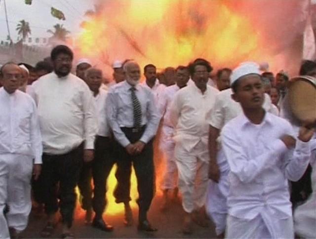 Bombenexplosion auf Sri Lanka (Keystone)