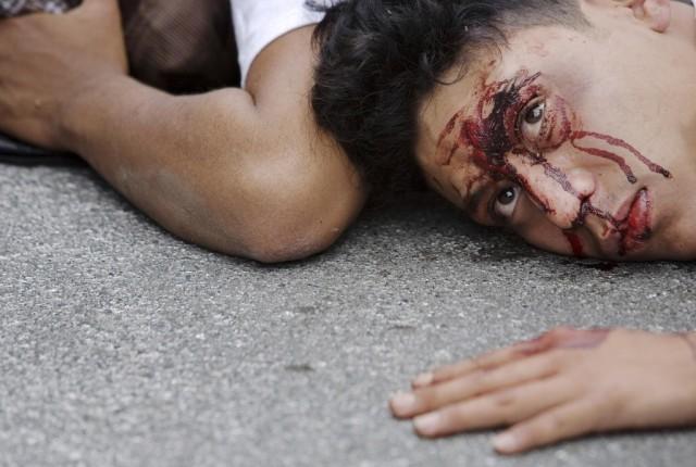Verdächtiger in Guatemala (Keystone)