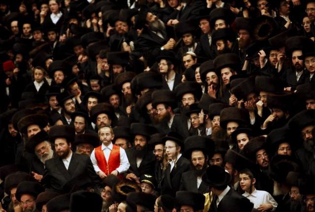 Ultra Orthodoxe Juden Purim (Keystone)