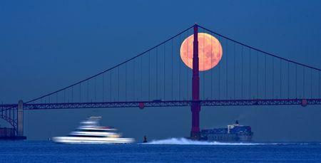 Der Saft-Mond. (Keystone)