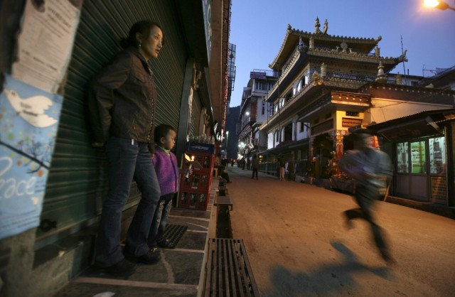 Tibet Protest (Keystone)