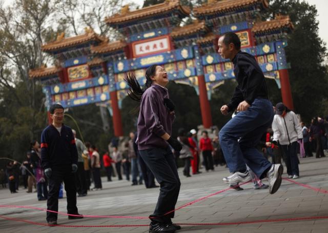 Chinesischer Sonntag (Keystone)