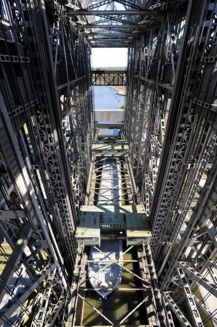 Schiffshebewerk Niederfinow (Keystone)