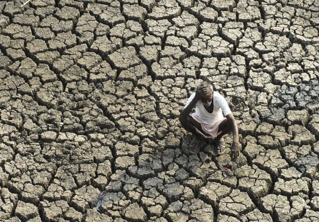 Trockenheit in Hyderabad (Keystone)