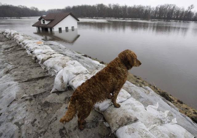 Fargo, Überschwemmung (Keystone)