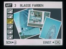 ART-Programm BLASSE FARBEN
