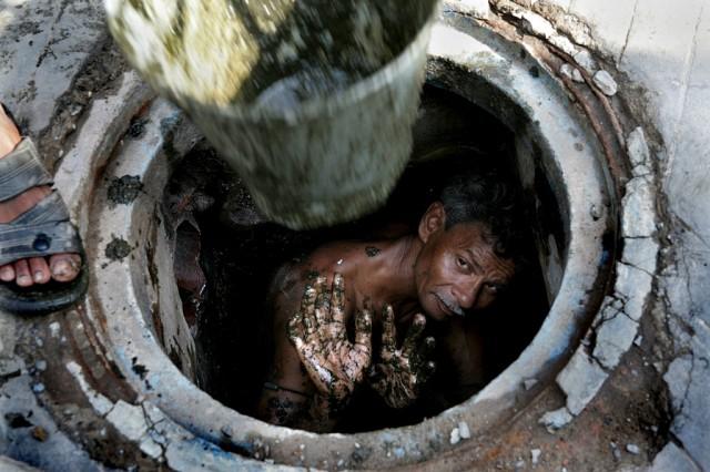 Kanalisation Indien (keystone)