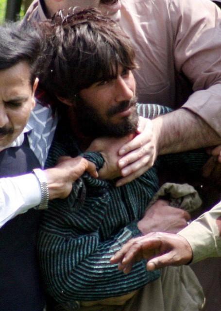 Terrorist in Pakistan (keystone)