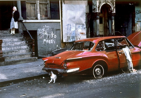 Helen Levitt: New York City 1974. (© Keystone)