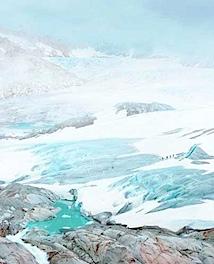 © Lukas Roth: Ohne Titel (Gletscher I), 2008