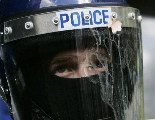 G20-Protest in London (keystone)