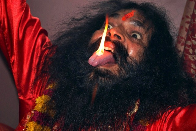 Hindupriester (keystone)