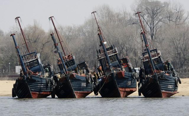 Nordkoreanische Boote (keystone)