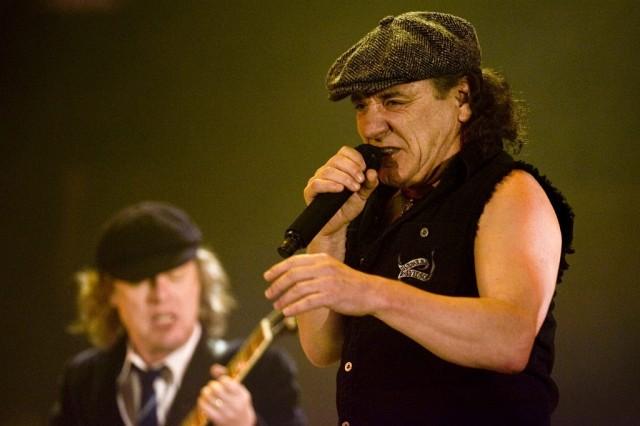 Brian Johnson und Angus Young von AC/DC (keystone)