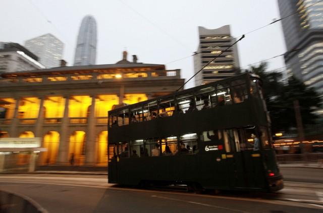 Tram in Hong Kong (keystone)