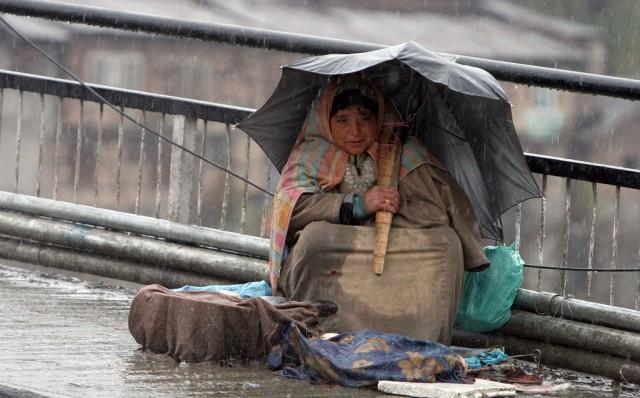 Kashmiri Fischverkäuferin (keystone)