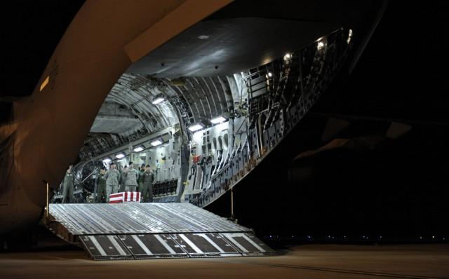 US-Soldaten leichentransport (keystone)