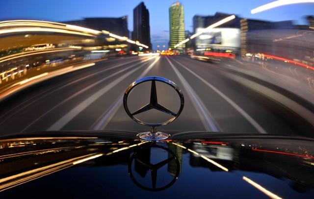 Mercedes am Potsdamer Platz (keystone)