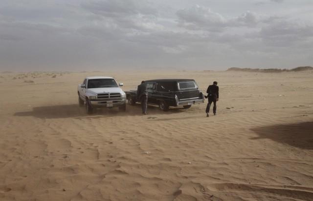 Beerdigung in der Wüste (keystone)
