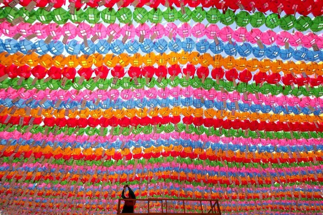 Südkorea Buddhisten (Keystone)