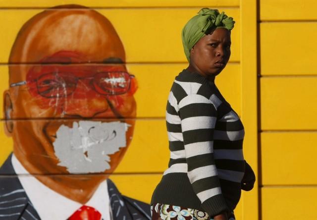 Südafrika Wahlen (Keystone)