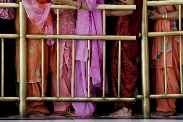 Sikhs in Amritsar (Keystone)