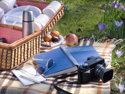 Piknik mit Andreas Feininger. ©HK