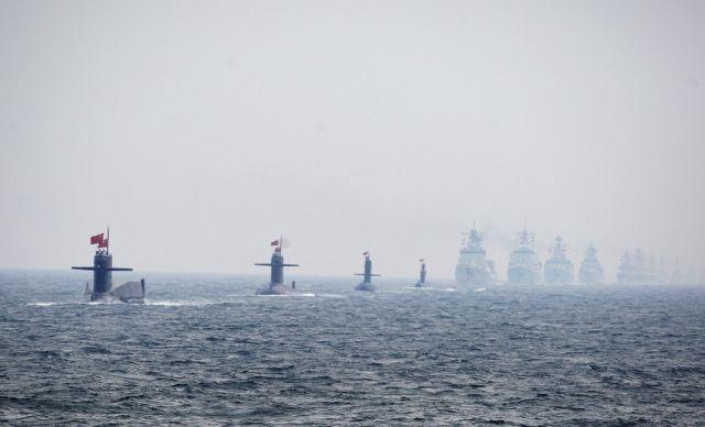 Chinesische Marine (Keystone)
