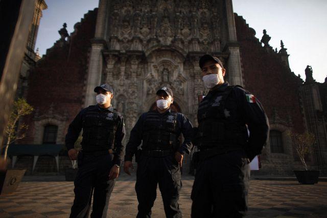 Schweinegrippe Mexiko (Keystone)
