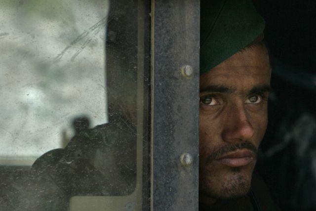 Afghanischer Soldat (Keystone)