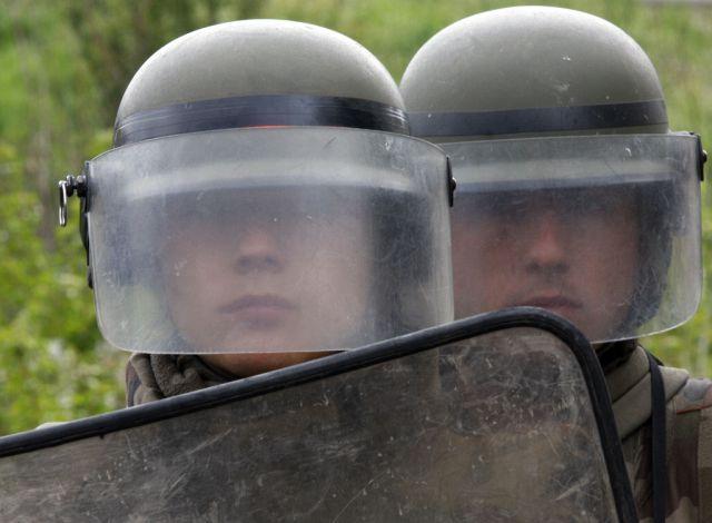 Französische Kfor-Soldaten in Kosovo (Keystone)