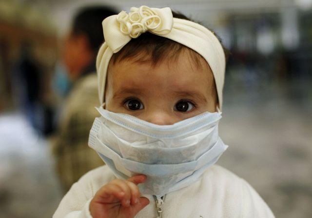 Schweinegrippe in Mexiko (Keystone)