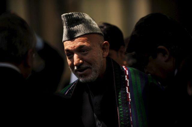 Hamid Karzai (Keystone )