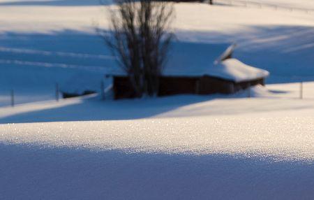 Schneediamanten: Bokeh sei mit Dir
