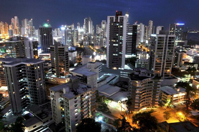 Panama City, Nachtaufnahme (Keystone)