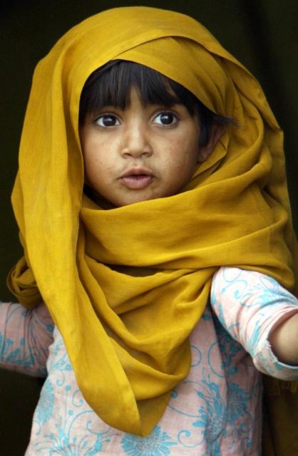 Pakistanisches Mädchen (Keystone)