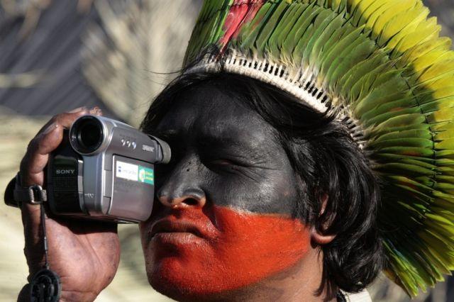 Kayapo-Indianer (keystone)