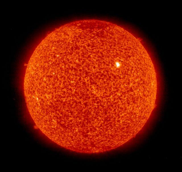 Sonne mit Sonnenfleck (keystone)