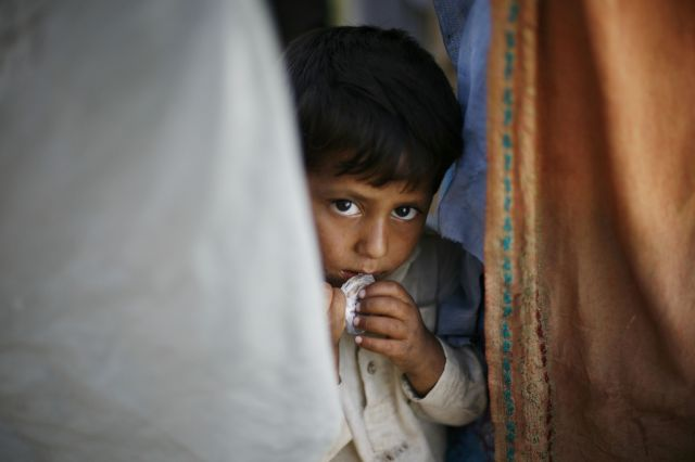Flüchtlinge Pakistan (Keystone)