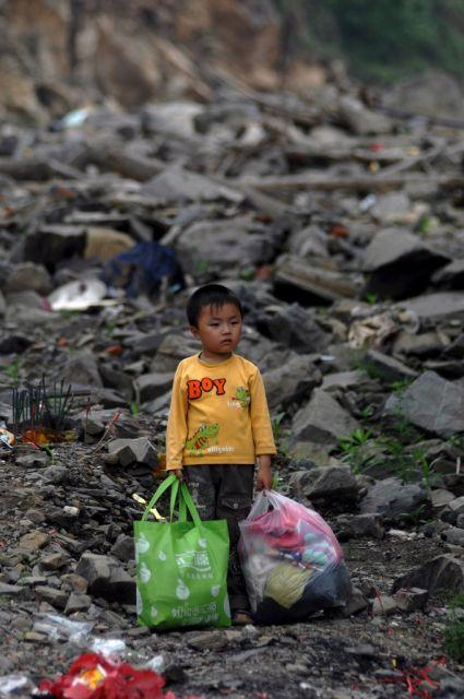 Erdbeben in China (keystone)