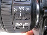 Bildstabilisator-Einstellungen am Nikkor AF-S DX 18-200mm VR 1:3.5-5.6 (ps)