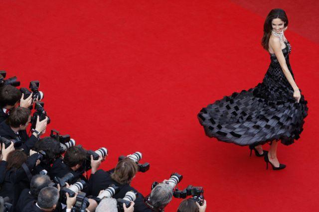 Eugenia Silva in Cannes (keystone)