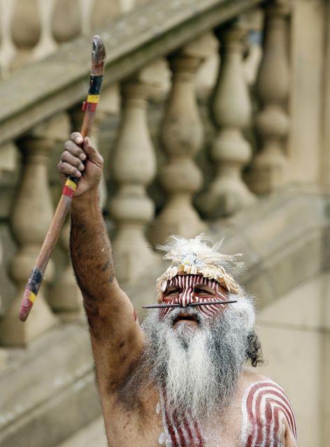Aboriginal Medizinmann (keystone)