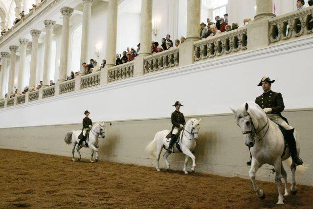 Spanische Reitschule in Wien (keystone)