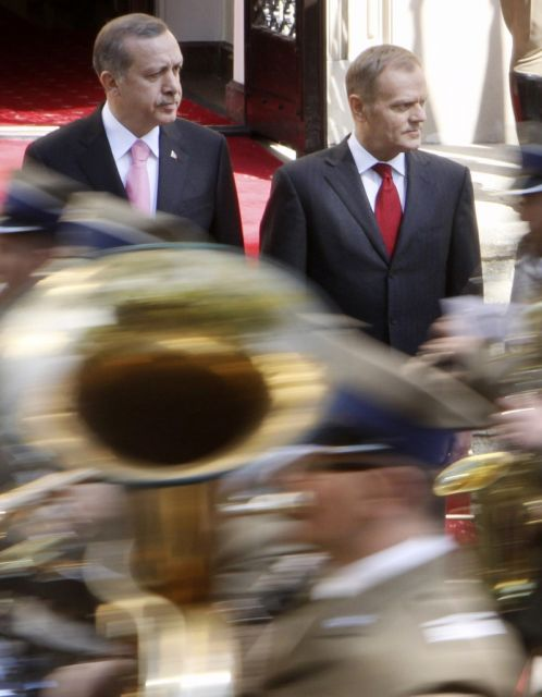 Polnischer Premier Und Erdogan (keystone)