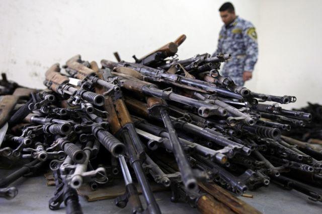 Waffensammlung irak (keystone)