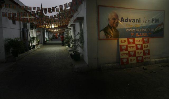 Das Hauptquartier der indischen Oposition Bharatiya Janata (keystone)