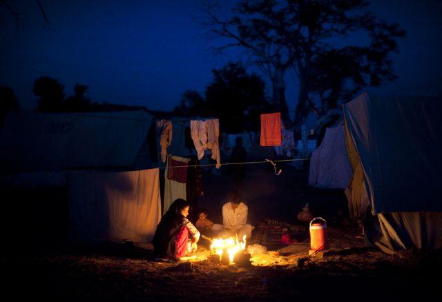 Flüchtlinge aus dem Swat-Tal (keystone)
