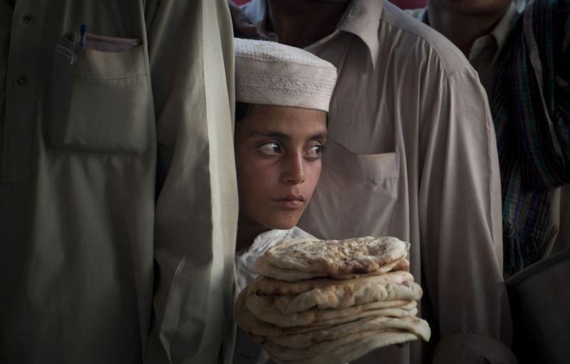 Pakistanische Flüchtlinge (keystone )