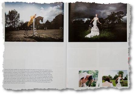Story über den Promi-Fotografen Stephan Pick: Vornehmlich Bilder, wenig Information, keine Geschichte.